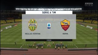 Verona vs AS Roma Italy Serie A Round 14 Full Gameplay my prediction subscribe please