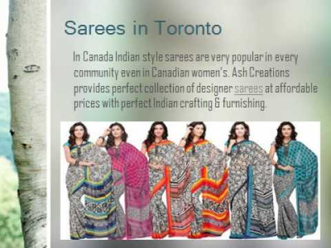 Beautiful Sarees In Brampton