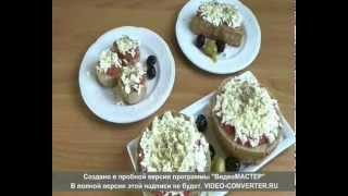 Греческий дакос: Традиционная греческая закуска из сухаря, помидор и феты