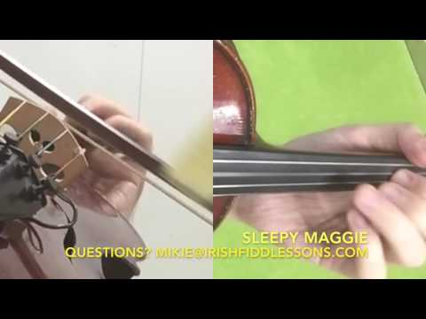 Sleepy Maggie Video Tutorial