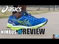 ASICS NIMBUS 19 REVIEW