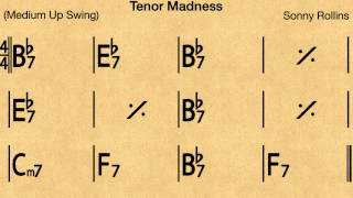 Tenor Madness - Backing track / Play-along