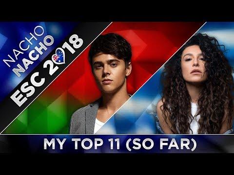 Eurovision 2018 | TOP 11 - FROM AUSTRALIA (So Far) + 🇧🇾🇬🇷