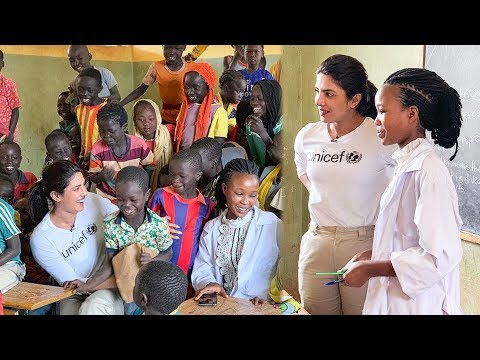Priyanka Chopra Spends Time With Kids and People Of Ethiopia | UNICEF