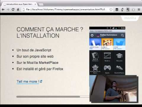 Introduction aux WebApps
