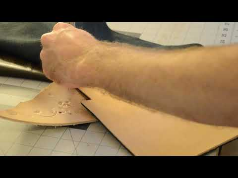 Making a Leather Long Wallet with Dallas Bag Company