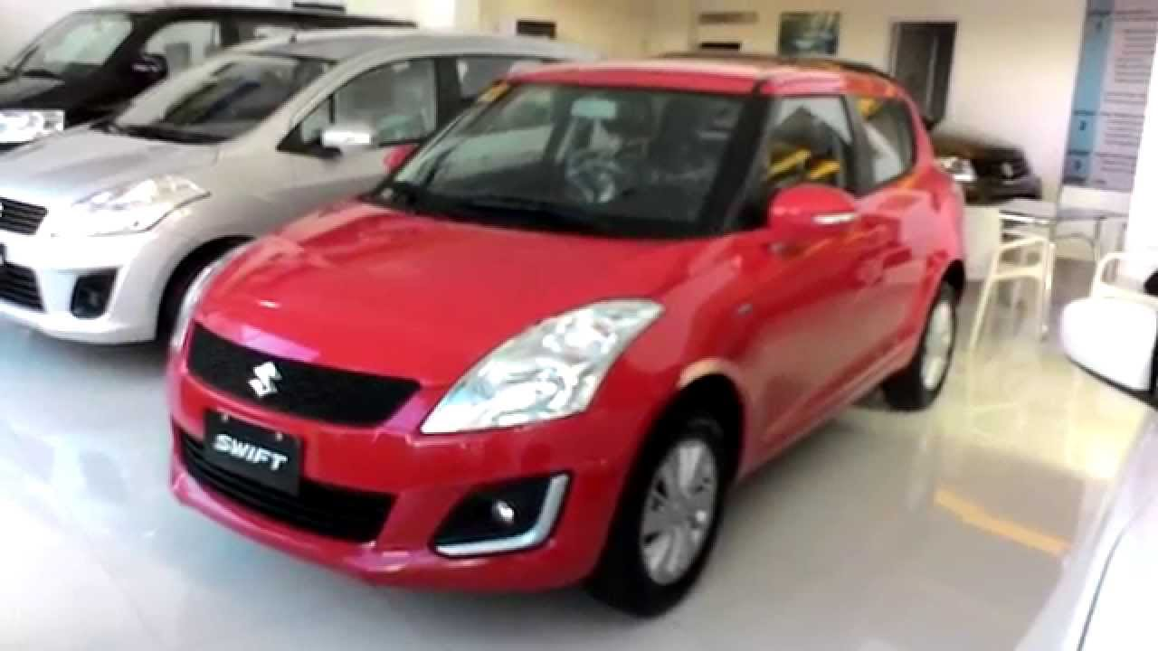 Suzuki Swift 1 2l Manual With Touchscreen Monitor Red