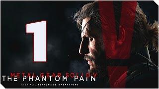 METAL GEAR SOLID V THE PHANTOM PAIN | Capitulo 1 | Despertar...