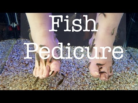 NAIL FISH PEDICURE IN PARIS, FRANCE   Dearnatural62