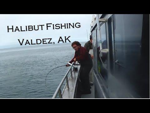 Halibut Fishing Valdez, Alaska (Ling Cod, Rockfish, & WHALE)