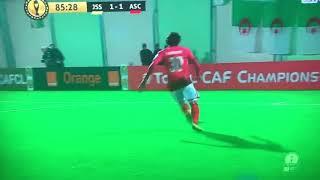هدف الاهلي المصري ضد شبيبة الساورة - دوري ابطال افريقيا ????هدف????محمد هاني 1-1