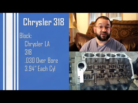 Chrysler 318 Stroker - First Fire And Build Information
