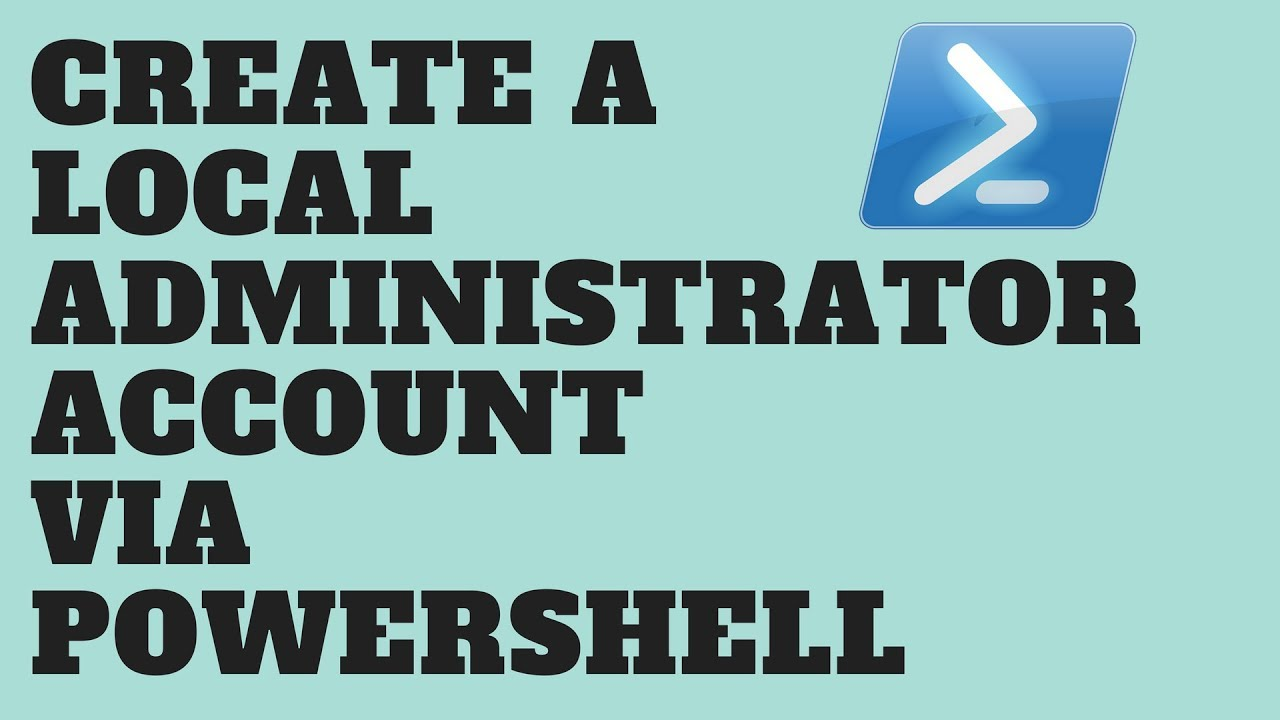 how to create domain administrator account