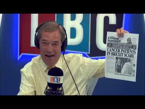 Nigel Farage Asks is Project Fear Back?