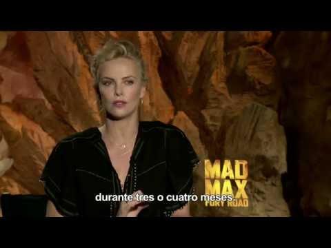 Mad Max: Furia en la Carretera - Entrevista Charlize Theron HD