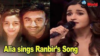 Alia Bhatt Sings Ranbir Kapoor's Ae Dil Hai Mushkil Song before she dated the actor | Brahmastra
