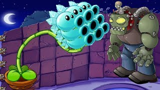 Plants vs Zombies Epic Hack -  Imitater Snow Pea vs Dr. Zomboss thumbnail