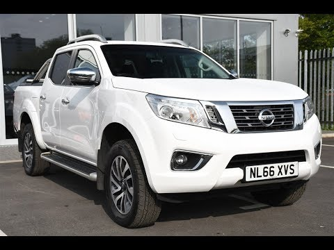 409fd377a4 Used Nissan Navara Double Cab Pick Up Tekna 2.3dCi 190 4WD Auto White 2016