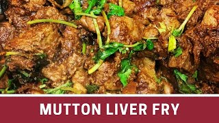 Mutton Eeral Varuval   Mutton Liver Fry   Mutton Fry