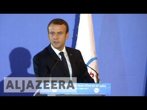 Macron pledges support for West African Sahel force