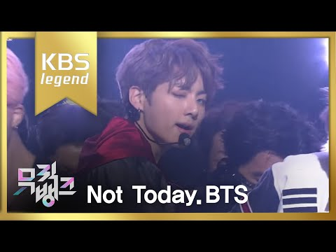 뮤직뱅크 Music Bank - 방탄소년단 - Not Today (BTS - Not Today).20170224