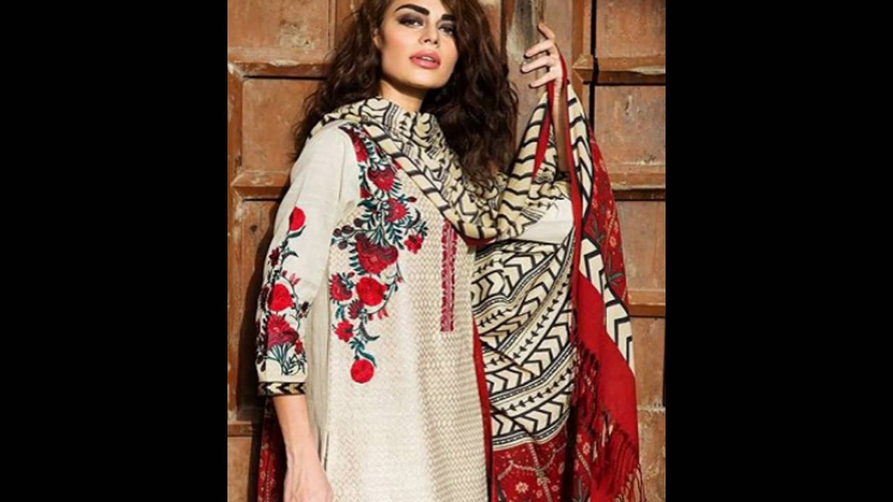 8db0fa560 Khaadi Winter Dresses Collection 2016 With Prices - YouTube