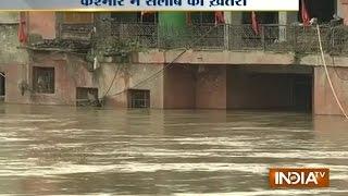 Flood alert in Kashmir as Jhelum crosses danger mark  | India TV