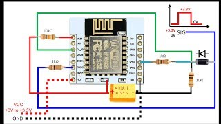 Extreme Power-Save Mode: ESP8266 powered ON after External Interrupt