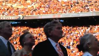 Johnny Majors No. 45 Jersey Retirement Ceremony (9/15/12)