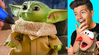INCREDIBLE 3D Printed BABY YODA! (INSANE)