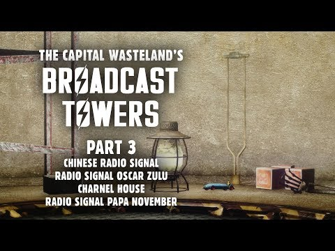 Broadcast Towers 3: Signals Papa November & Oscar Zulu - Plus, the Chinese Beacon & Charnel House