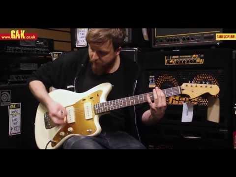 Squier - J Mascis Jazzmaster Demo at GAK