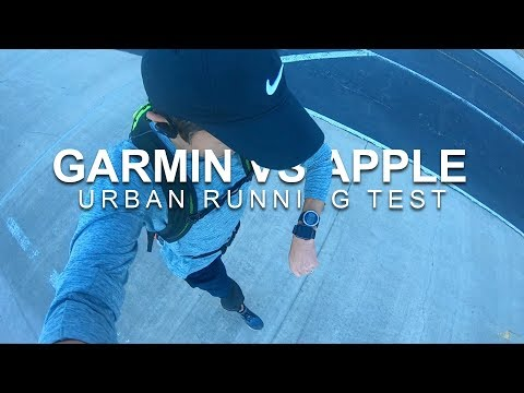 Garmin Vs. Apple Watch Series 4 - Urban Running GPS Test