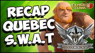 QUÉBEC S.W.A.T VS BLACK JUNIOR | CLASH OF CLANS