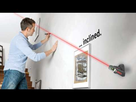 How to: Hang up Pictures Straight—with the Bosch Laser Spirit Level PLL 1 P