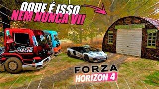 FOMOS BUSCAR UM CARRO ABANDONADO DE CAMINHÕES - FORZA HORIZON 4