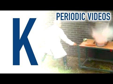 Potassium - Periodic Table Of Videos
