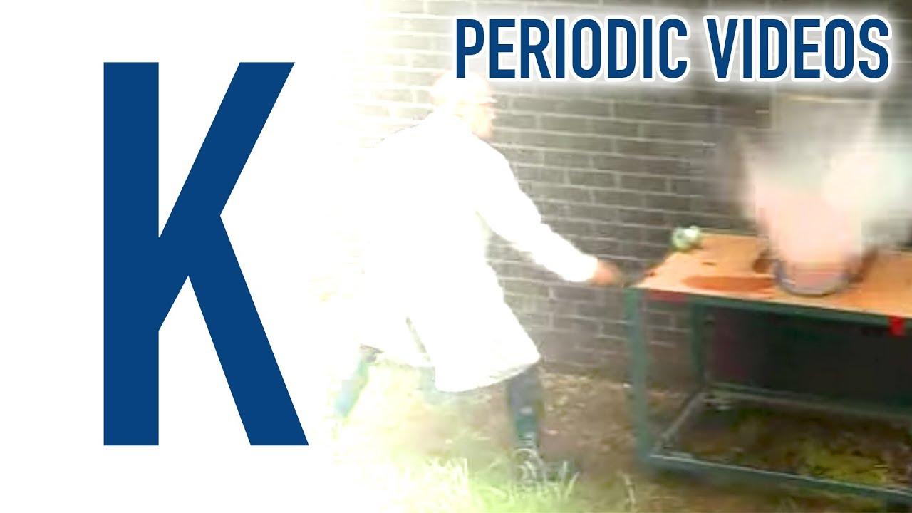 Potassium periodic table of videos youtube potassium periodic table of videos urtaz Images