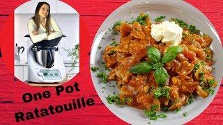 One Pot Pasta Ratatouille | köstliches Gericht aus einem Topf | Ruck zuck | ThermoMixenmitClaudia