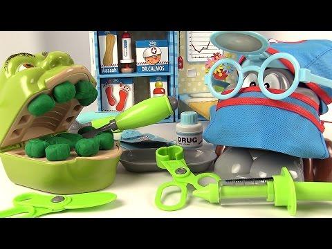 Shrek et le Singe Chirurgien Opération avec Mallette Docteur Accessoires
