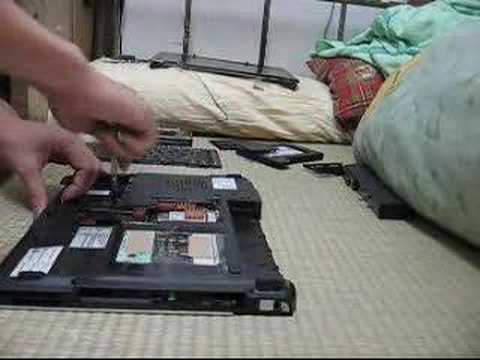 Disassembly Acer laptop