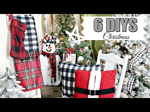"🎄6 DIY DOLLAR TREE CHRISTMAS DECOR CRAFTS 2019🎄 ""I Love Christmas"" ep 11 Olivia's Romantic Home"