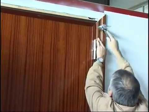 Revestimiento marco molduras madera youtube - Molduras para puertas ...