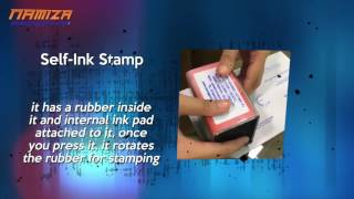 What are Rubber Stamp, Self-Ink and Flash Stamp?
