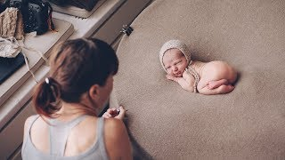 Освещение малыша /мастер-класс по съмке новорожденных/