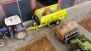 Wóz paszowy poziomy STORTI AKITA 120 | BIELECKI maszyny rolnicze