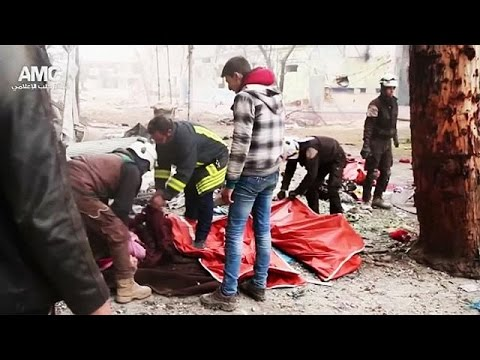 Syria and Russia warned over latest Aleppo 'atrocities'