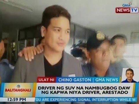 BT: Driver Ng SUV Na Nambugbog Daw Ng Kapwa Niya Driver, Arestado