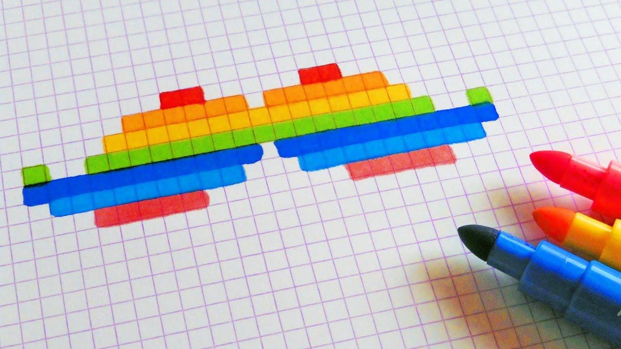 pixel art moustache