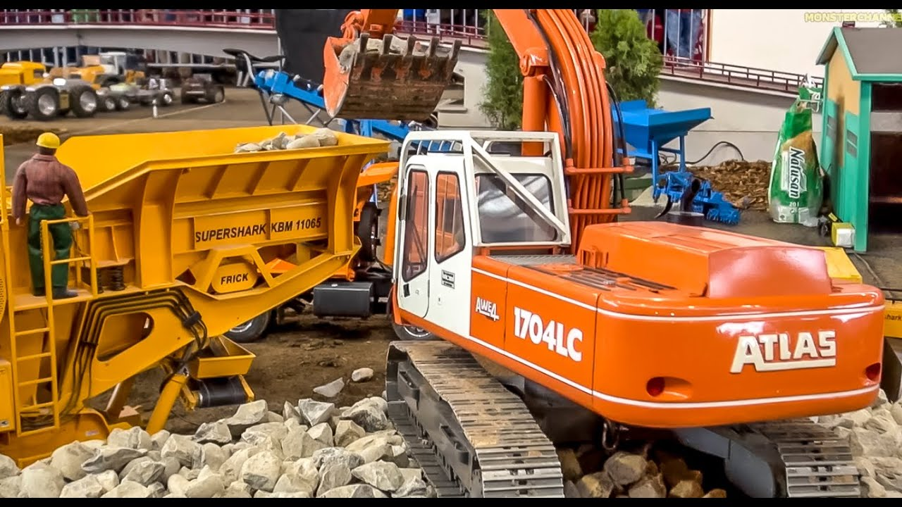 rc construction machine